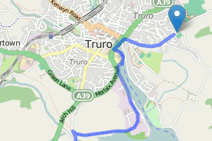 Truro running club Newham Trail out and back
