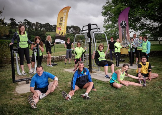 Walk Run Group, Boscawen Park, Truro, 2013