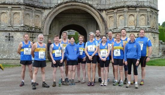 Truro Running Club at The Great Lanhydrock Run, June 2012