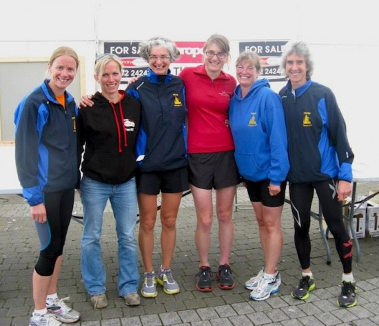 Truro Half Marathon 2012, TRC ladies team