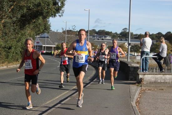 Truro Half Marathon 2012, Gary Pascoe of Truro Running Club