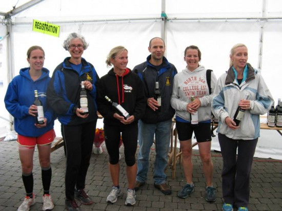 Truro ladies take third team prize