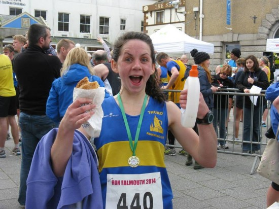 One happy Beth Bunny! Congratulations of a fab under 2 hour PB!