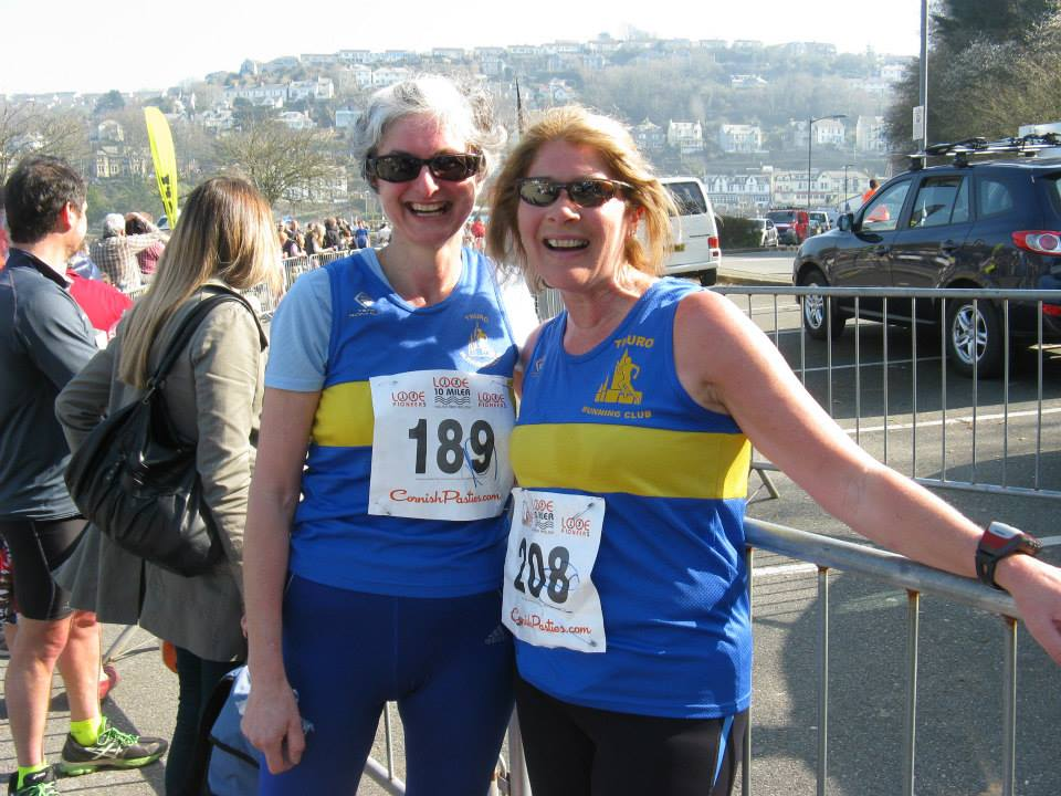 Post race smiles! Looe, Cornwall