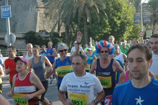 Palma Half Marathon Runners 2014