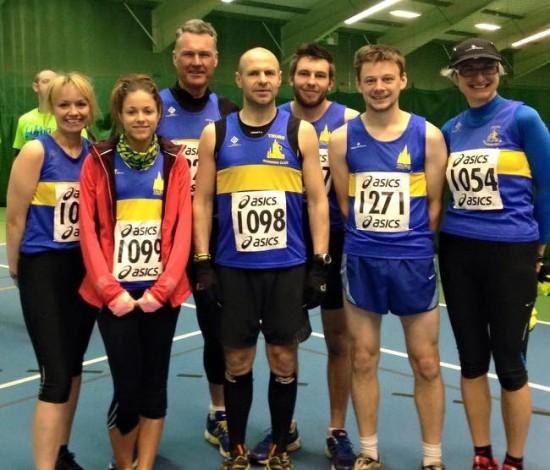 Bodmin Fire and Rescue Half Marathon team 2015